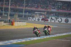 Tom Sykes, Kawasaki Racing Team et Jonathan Rea, Kawasaki Racing Team
