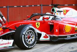 Sebastian Vettel, Ferrari SF16-H avec la protection de cockpit de type