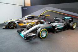 Mercedes AMG F1 und GT3