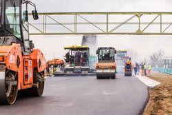 Hungaroring, i lavori della ripavimentazione del circuito