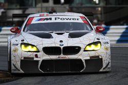 Столкновение машины Лукаса Лура, Джона Эдвардса, Куно Виттмера и Грэма Рейхола, #100 BMW Team RLL BM