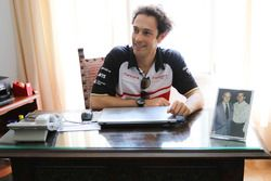 Bruno Senna, Mahindra Racing beim Besuch von Juan Manuel Fangio's Haus und Museum