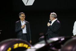 Jerome Stoll, Renault Sport F1 president met Patrice Ratti, Renault Sport Technologie general manage