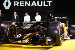 Das Design ist präsentiert, Renault F1 Team