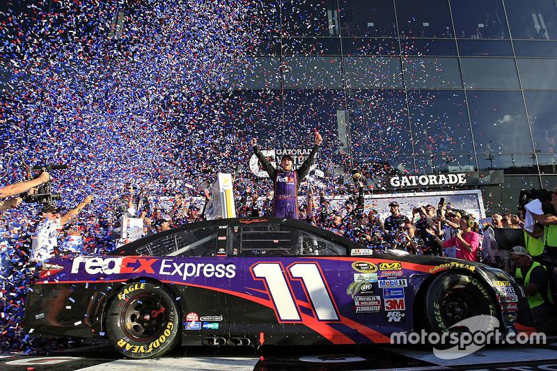 Daytona: Denny Hamlin (Gibbs-Toyota)