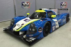 Yvan Muller Racing la livrée de sa Ligier JS P3