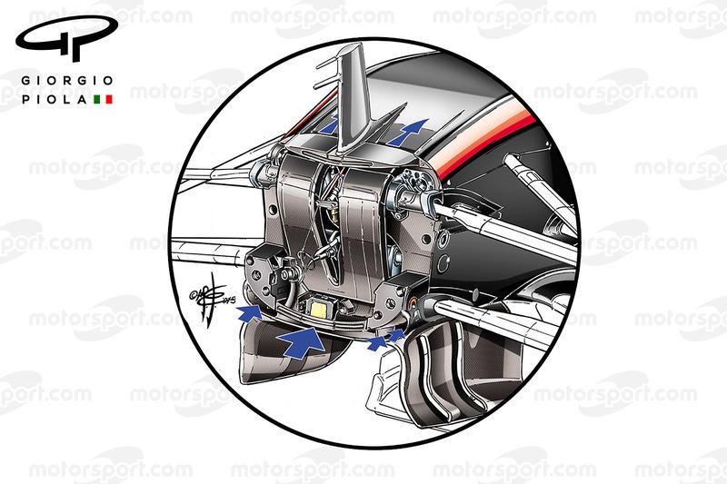 Ducto S de McLaren