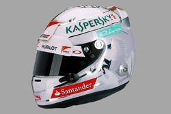 Sebastian Vettel kask