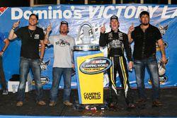 Ganador de la carrera John Hunter Nemechek, SWM-NEMCO Motorsports Chevrolet