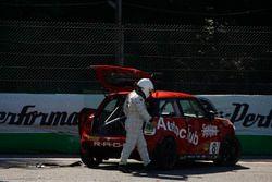Maurizio Losi, Turbosport & Autoclub by AC Racing Technology lascia la sua Mini dopo l'incidente