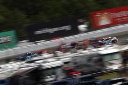 Martin Truex Jr., Furniture Row Racing Toyota Denny Hamlin, Joe Gibbs Racing Toyota Kyle Busch, Joe