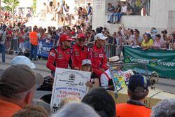 Outro ex-F1 também foi ovacionado: Giancarlo Fisichella