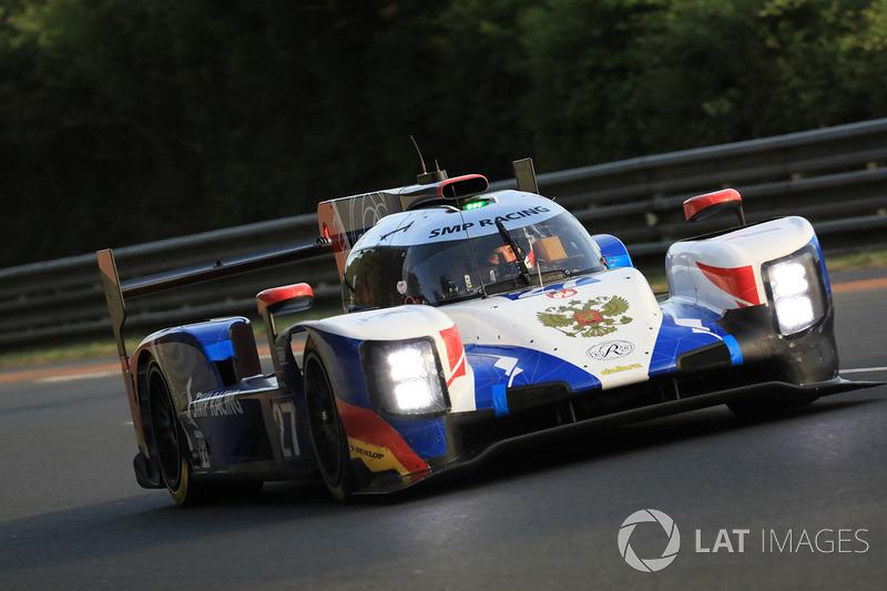 Михаил Алешин (SMP Racing №27, LMP2) – 16-е место в LMP2 и 33-е в абсолюте