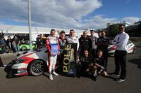 Polesitter Norbert Michelisz, M1RA, Honda Civic TCR with the team