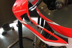 Nuevo carenado con alas de Ducati