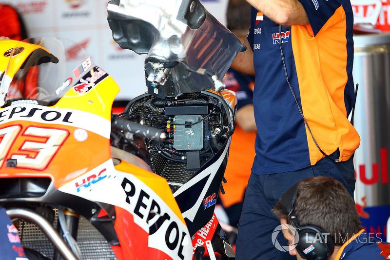 Паливний бак мотоцикла Марка Маркеса, Repsol Honda Team