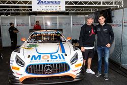 Stefan Effenberg und Luca Stolz, Team Zakspeed