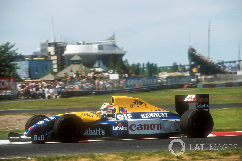 1: Nigel Mansell (Williams), Canadá 1991