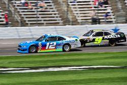 Joey Logano, Team Penske, Ford; William Byron, JR Motorsports, Chevrolet