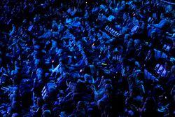 La folla durante l'evento Ford