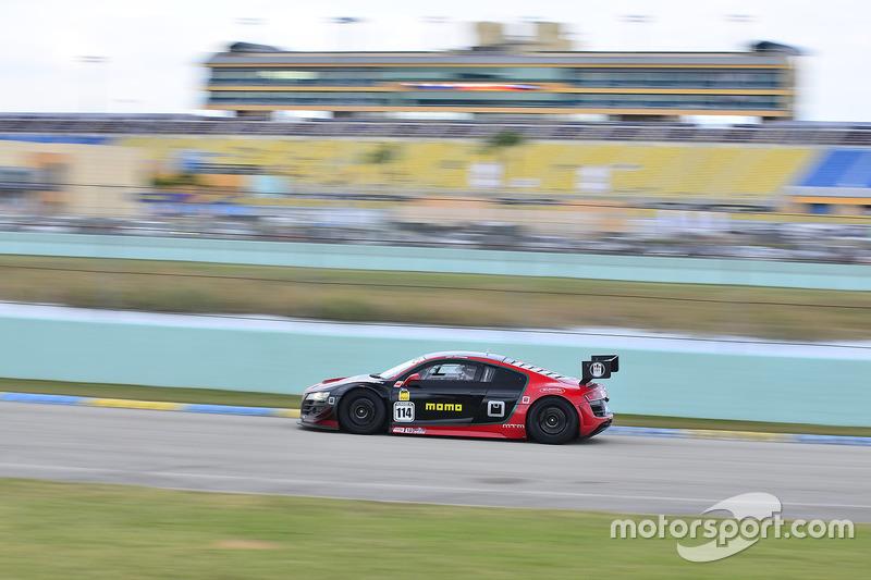 #114 MP1A Audi R8 driven by Eric Johnson & Ernie Francis Jr. of ANSA Motorsports