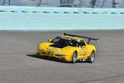 #24 MP1B Chevrolet Corvette driven by Juan Vento & Frank Eiroa of JV Racing