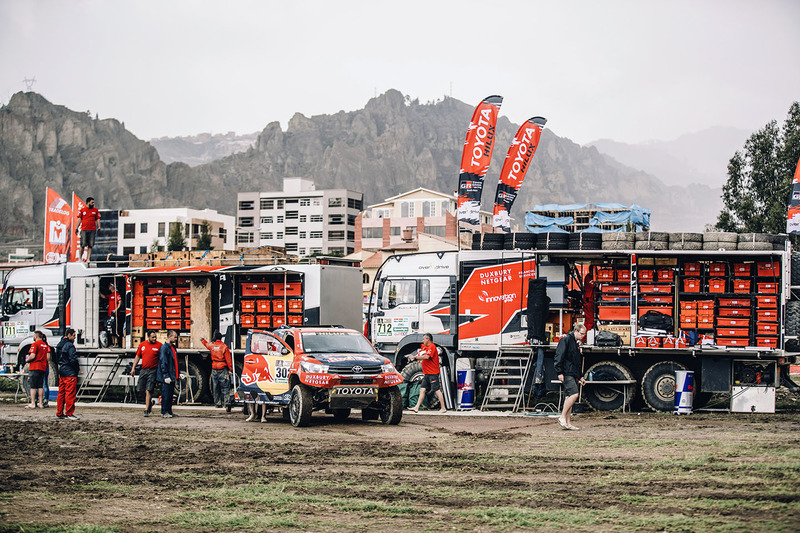 Zona de Toyota Gazoo Racing team