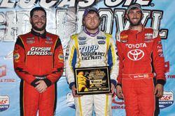 Winner Tyler Courtney, second place Larry Wight, third place Zach Daum