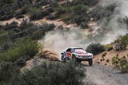 #300 Peugeot Sport, Peugeot 3008 DKR: Stéphane Peterhansel, Jean-Paul Cottret