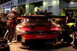 Pitstop #2 Black Falcon Mercedes AMG GT3: Khaled Al Qubaisi, Jeroen Bleekemolen, Patrick Assenheimer