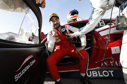 GTD winner Alessandro Balzan, Scuderia Corsa