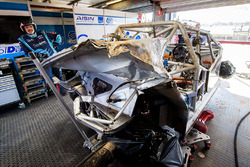 La voiture de Tim Blanchard, Brad Jones Racing Holden, Todd Hazelwood, Brad Jones Racing Holden