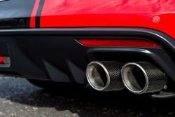 Tickford Ford Mustang exhaust detail