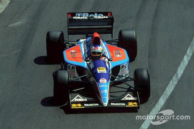 Michele Alboreto - 7 abandonos en la primera vuelta