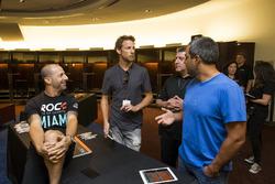 Tony Kanaan, Jenson Button, Juan Pablo Montoya