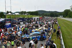Pre race grid walk