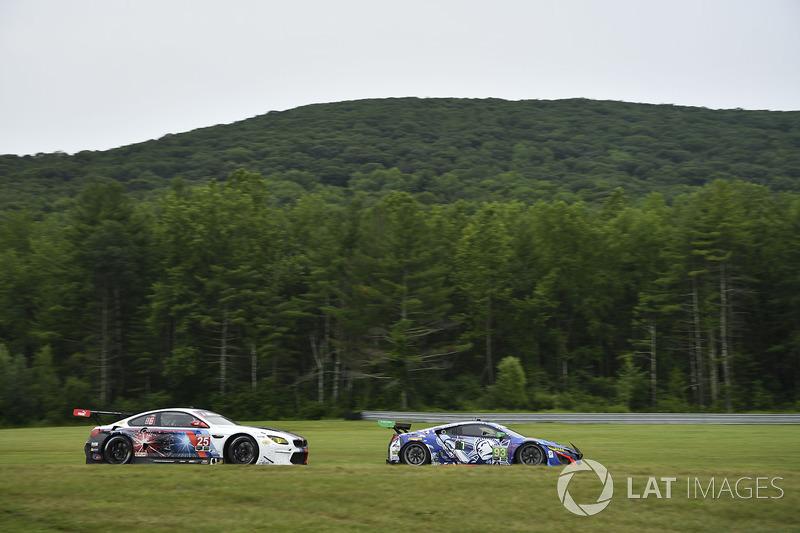 #25 BMW Team RLL BMW M6 GTLM: Bill Auberlen, Alexander Sims, #93 Michael Shank Racing Acura NSX: Andy Lally, Katherine Legge