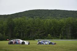 #25 BMW Team RLL BMW M6 GTLM: Bill Auberlen, Alexander Sims, #93 Michael Shank Racing Acura NSX: And