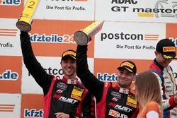 Podium: 2. #3 Aust Motorsport, Audi R8 LMS: Markus Pommer, Kelvin van der Linde