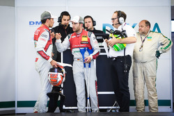 Loic Duval, Audi Sport Team Phoenix, Audi RS 5 DTM e Mike Rockenfeller, Audi Sport Team Phoenix, Aud