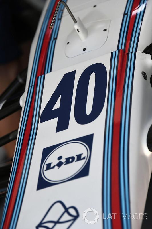 Номер Пола ді Реста, Williams на боліді Williams FW40