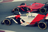 McLaren 2025 et Ferrari 2025