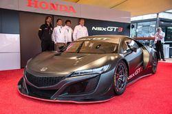 Honda NSX GT3 onthulling