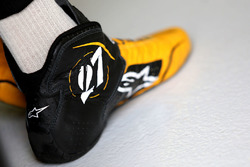 Schuhe von Nico Hülkenberg, Renault Sport F1 Team RS17