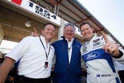 Dave Pericak de Ford with Chip Ganassi et le poleman en GTLM, Ryan Briscoe, Ford Performance Chip Ganassi Racing