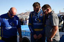 Chase Briscoe, Brad Keselowski Racing Ford with MRO Chaplin Kyle Froman