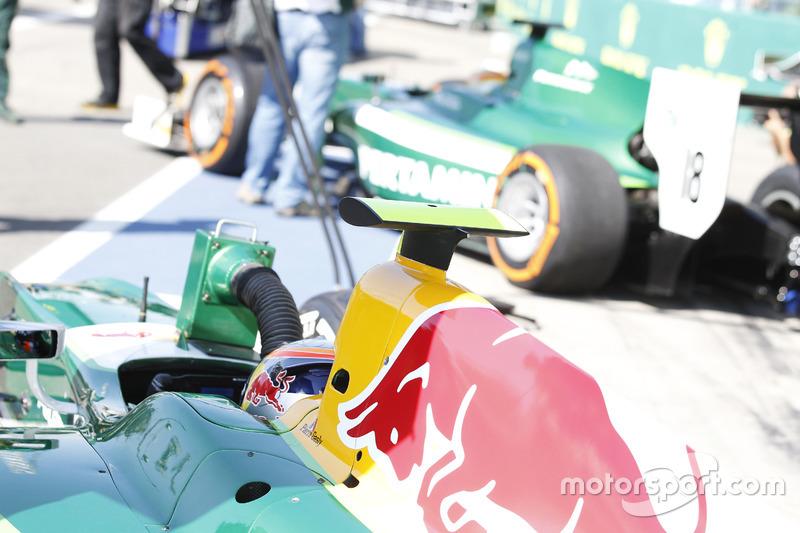 Monza 2014: Pierre Gasly, Rio Haryanto, Caterham Racing