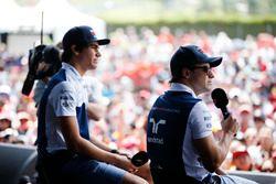 Felipe Massa, Williams, Lance Stroll, Williams, F1 sahnesinde