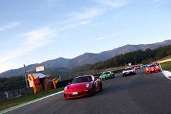 Porsche in parata al Mugello
