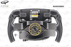 Ferrari SF70H: Lenkrad von Kimi Räikkönen